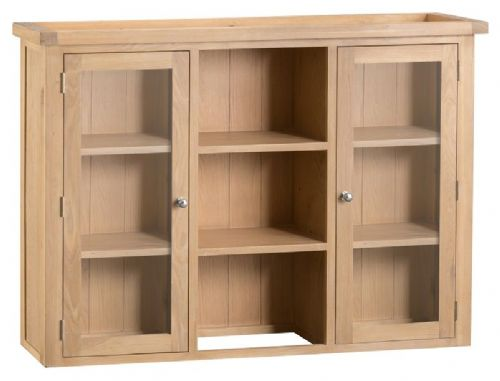 Oxford Oak Large Display Unit